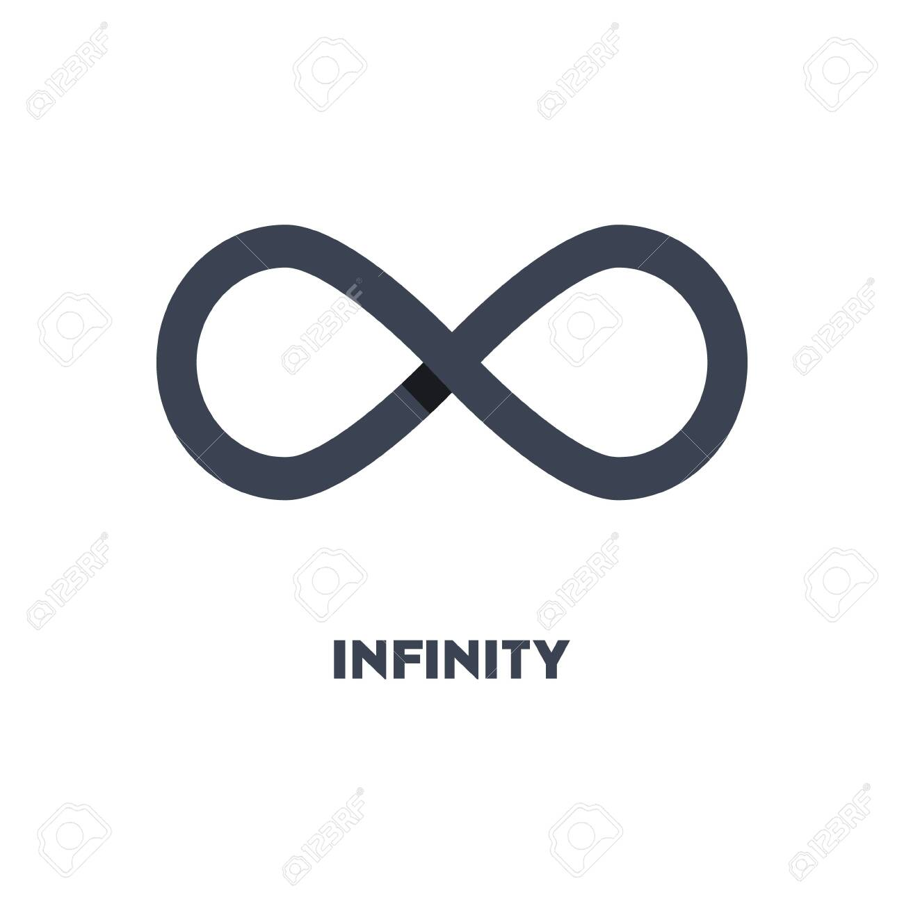 Limitless sign icon. Infinity symbol isolated on white background - 150405151