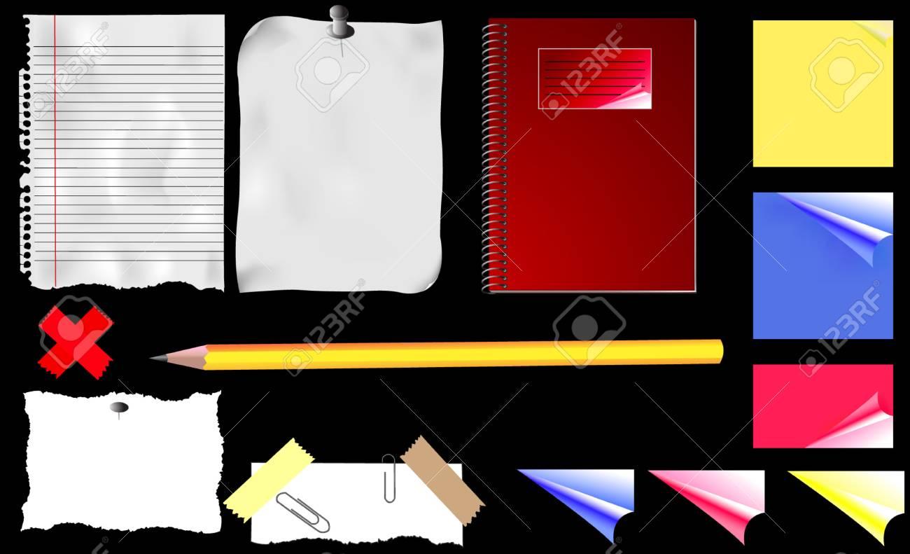 Office Stuff Stock Vector - 2852850