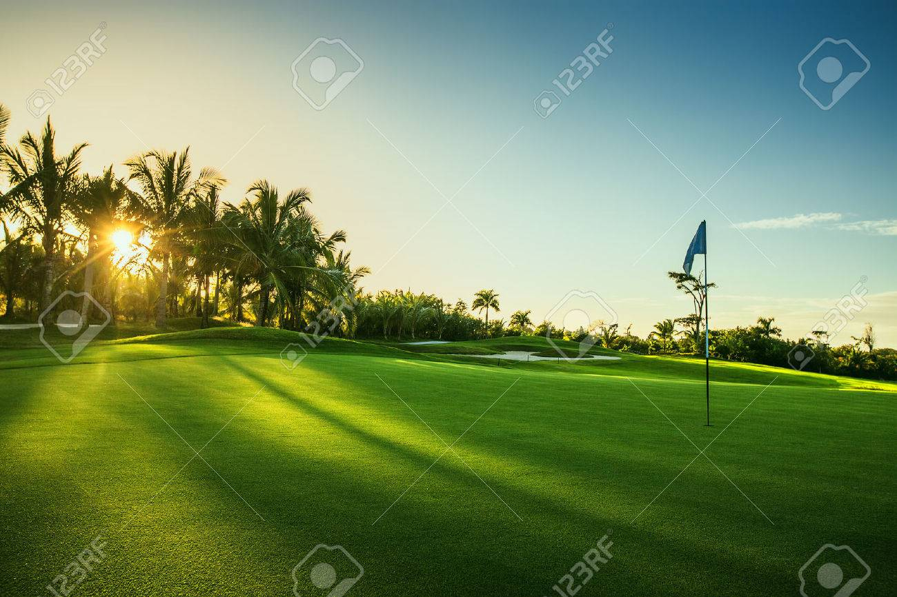 Golf course in the countryside Stock Photo - 51375562