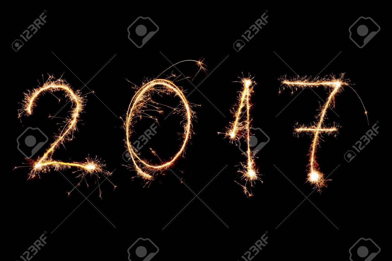 Background image 2017 - Happy New Year Background Happy New Year 2017 Written With Fireworks As A Background