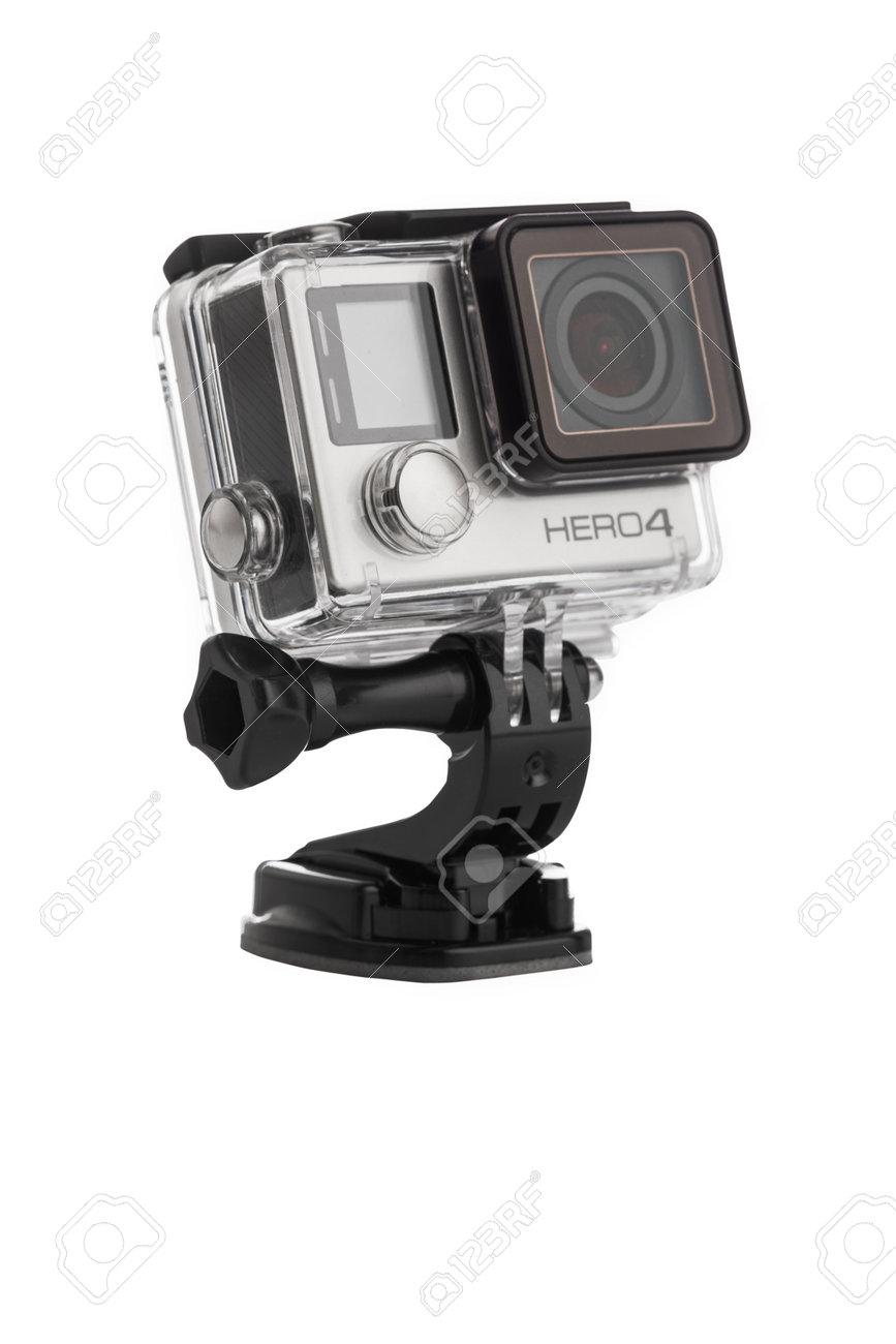 Varna, Bulgaria - January 8, 2017: GoPro Hero 4 Black Edition