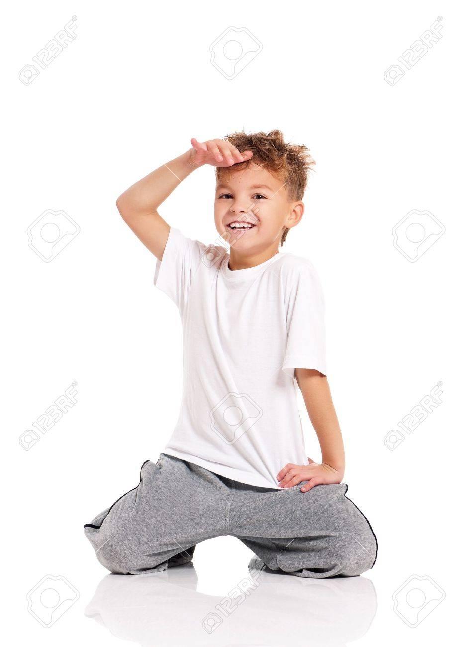 Boy dancing Stock Photo - 17600505