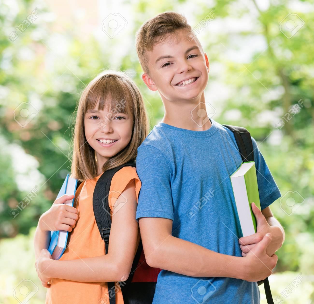 Boy and girl teen — img 10