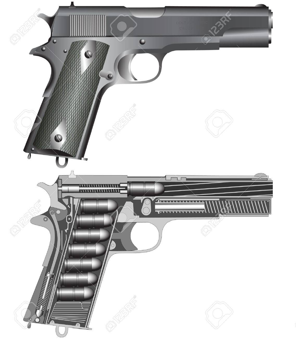 Pistol scheme - 4792184