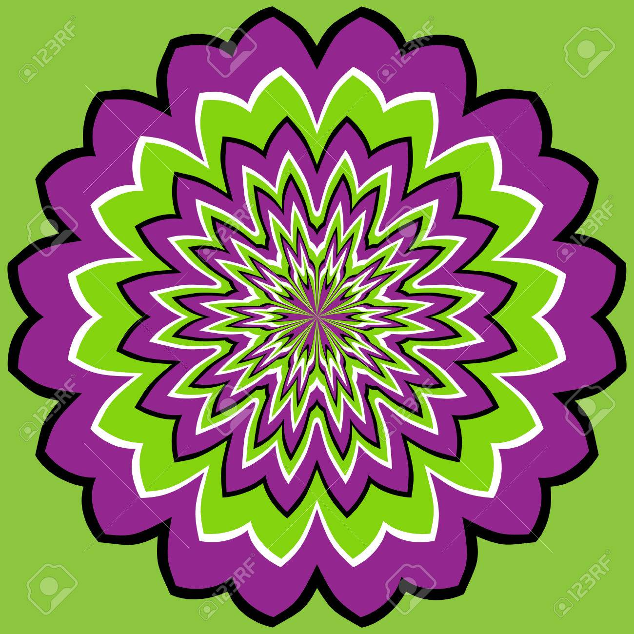 optical illusion Stock Vector - 5992427
