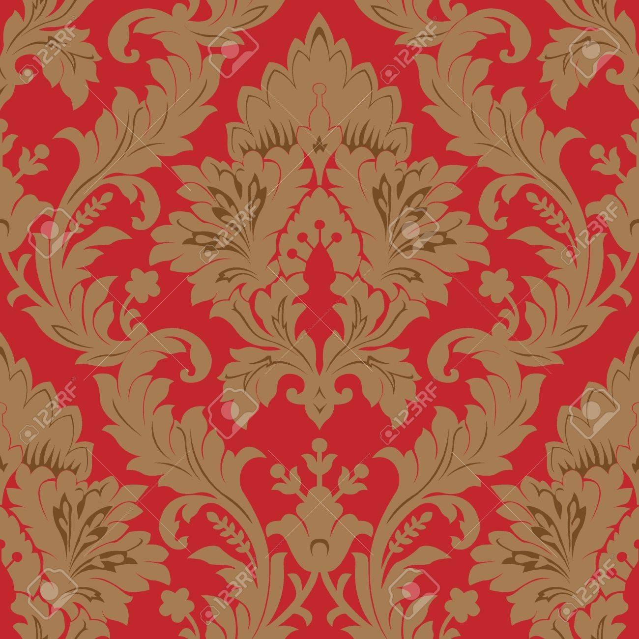 Seamless damask pattern Stock Photo - 6805340