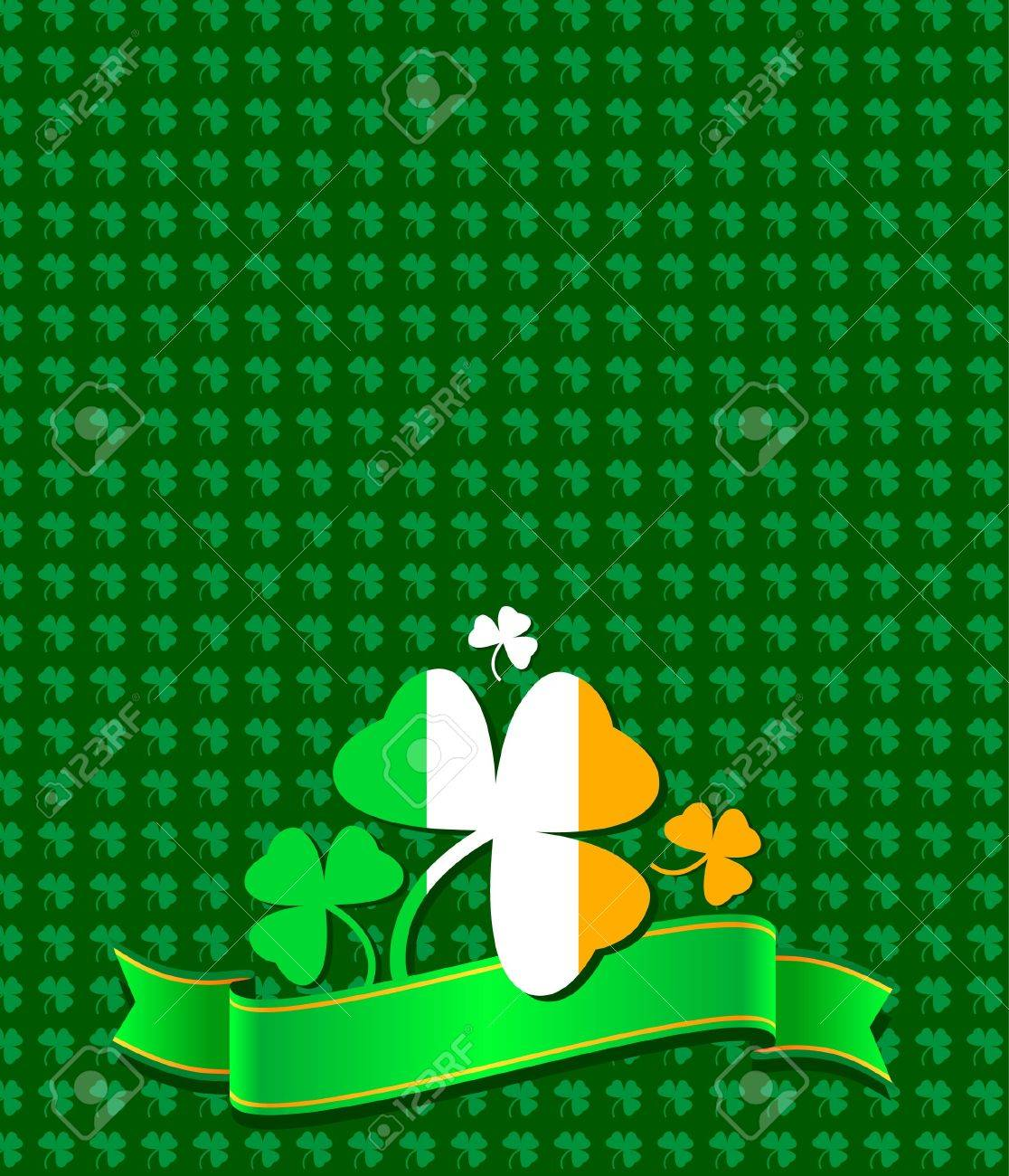 St. Patrick day background Stock Vector - 6574268