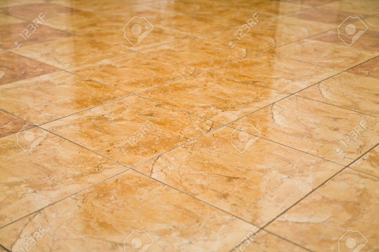 glazed tile on the floor as a background Stock Photo - 13804278