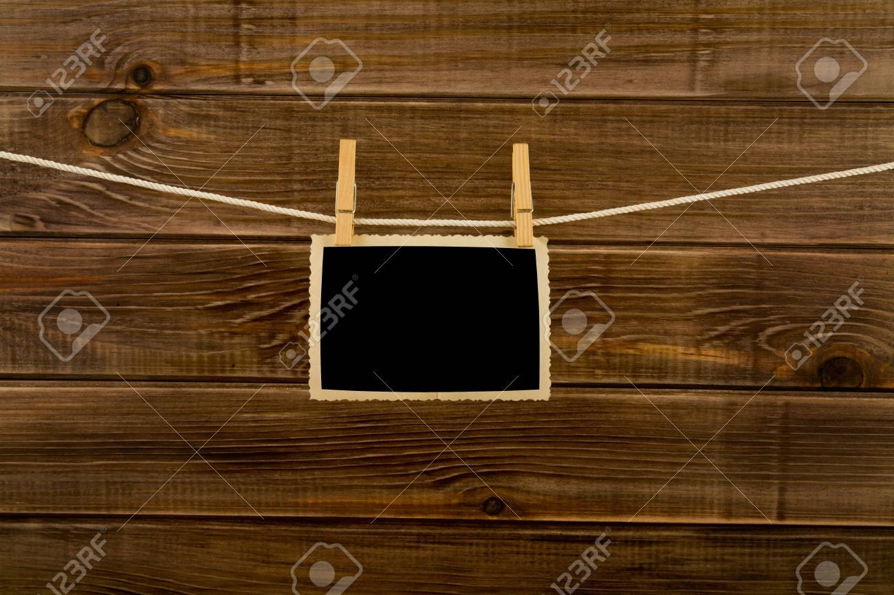 pictures on a wooden background Stock Photo - 15535655