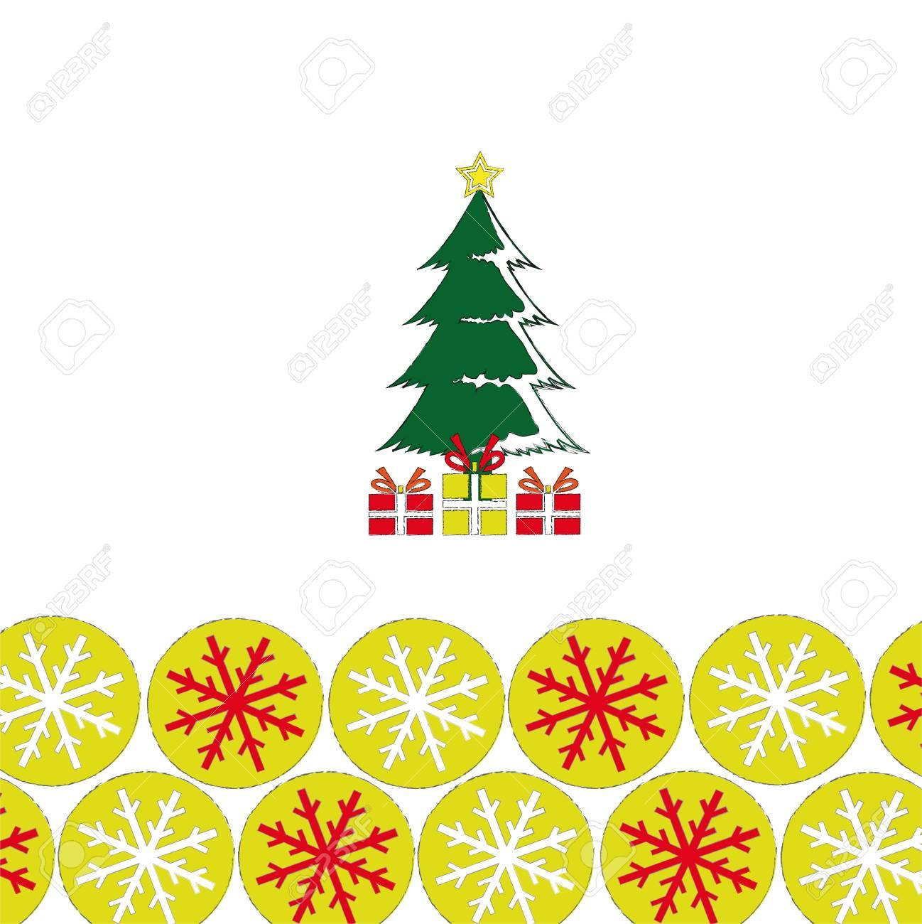 christmas greeting card Stock Vector - 16167642