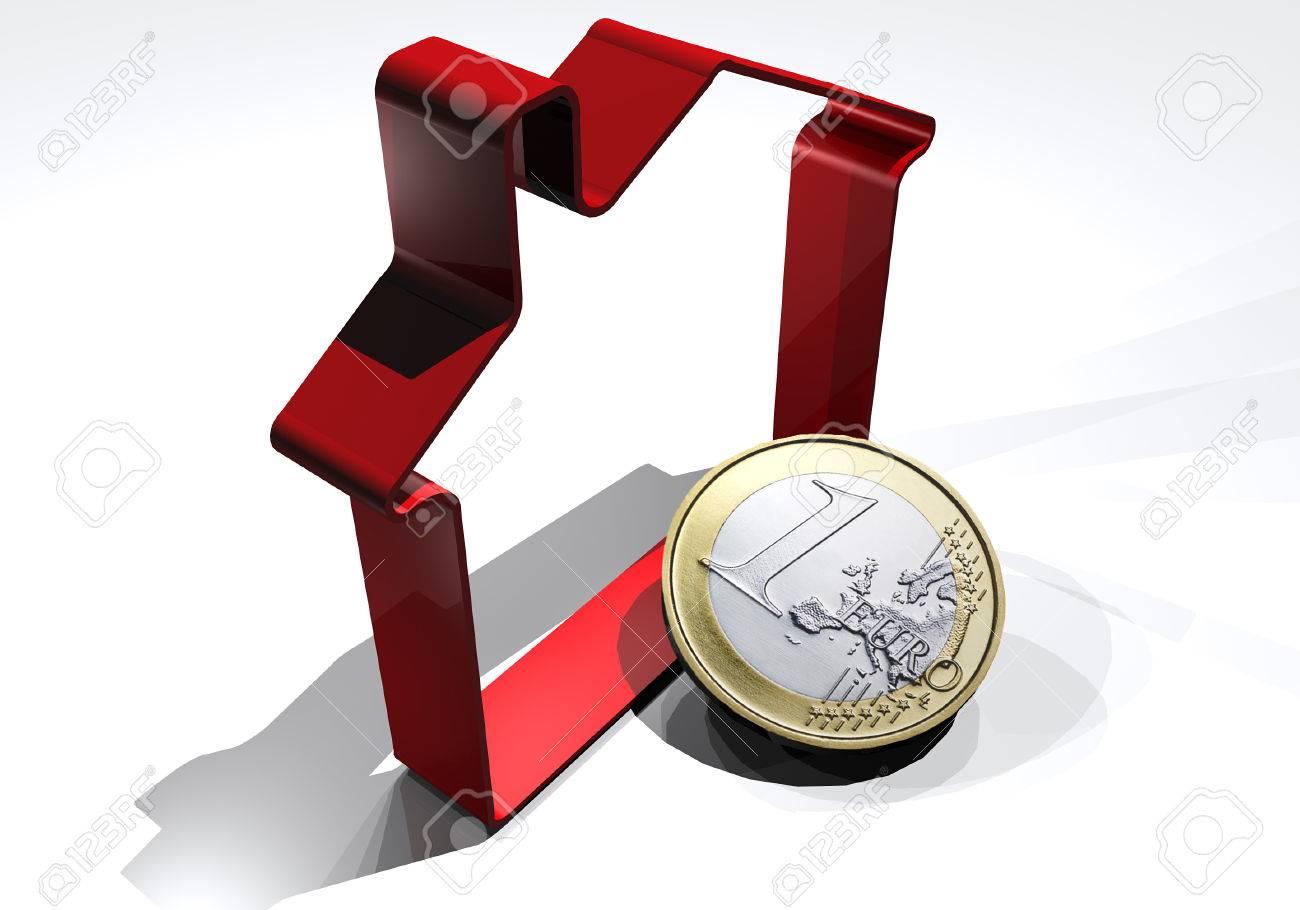 Kosten Für Den Kauf Oder Verkauf Des Hauses, Euro-Währung ...