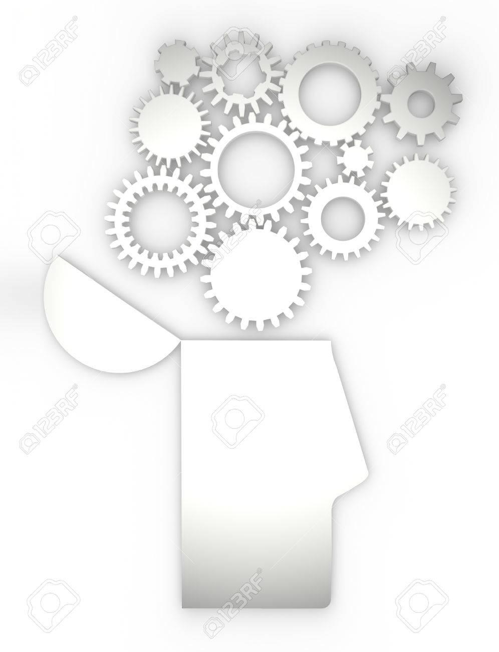La Anatomía Del Cerebro De Las Ideas De Cambio Del Cuerpo Humano ...