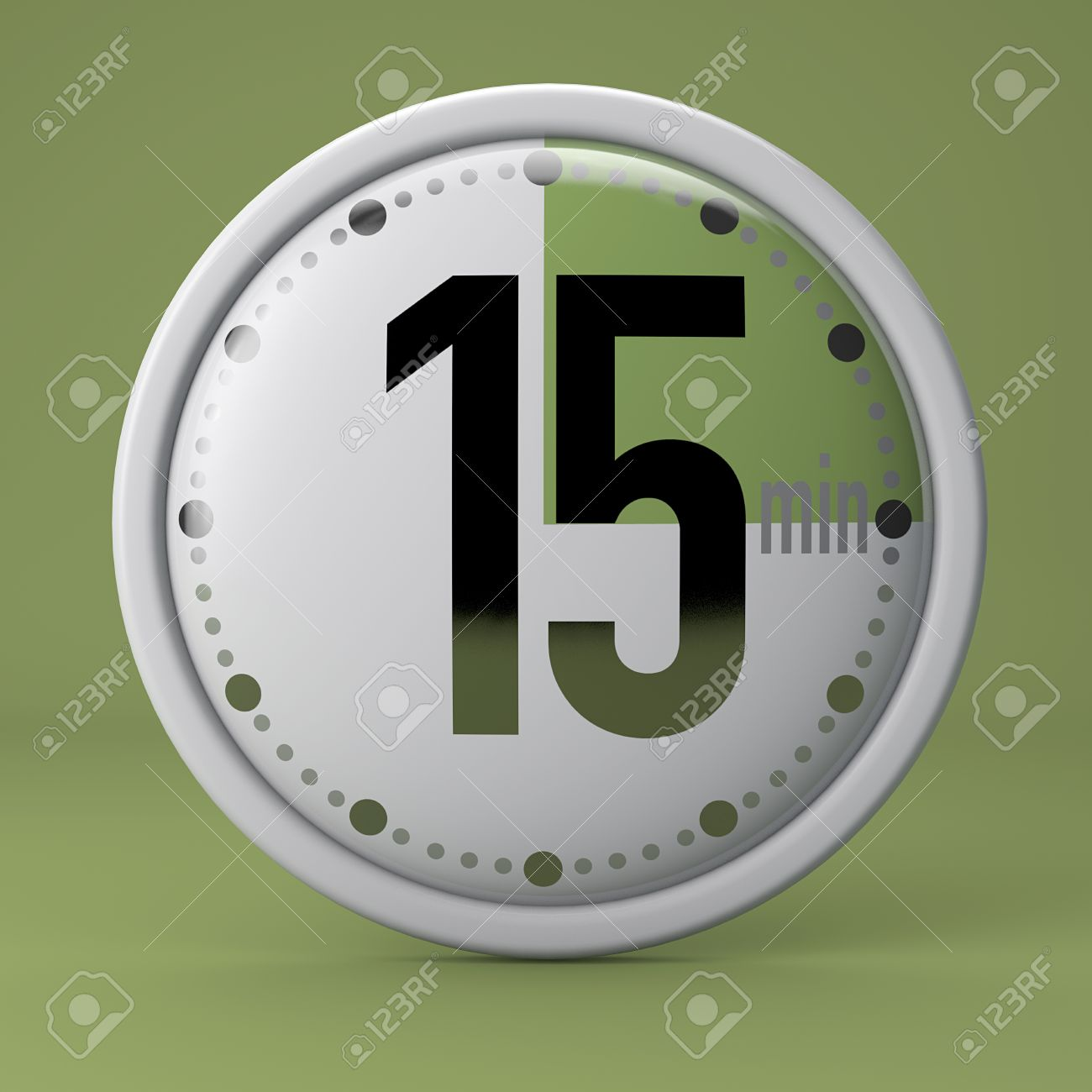 time clock timer stopwatch 15 minutes stock photo picture and
