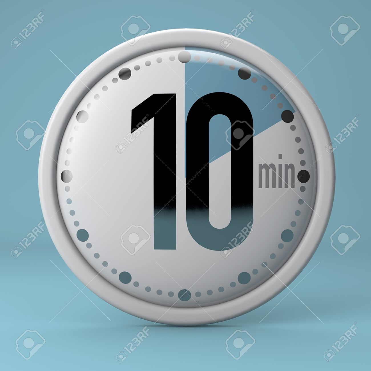 Time, Clock, Timer, Stopwatch 10 Minutes Stock Photo, Picture And ...