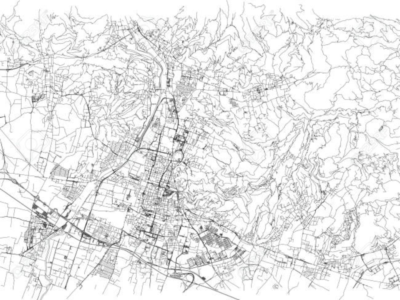 Cartina Stradale Di Italia.Vettoriale Strade Di Brescia Mappa Della Citta Lombardia Italia Cartina Stradale Image 90315543