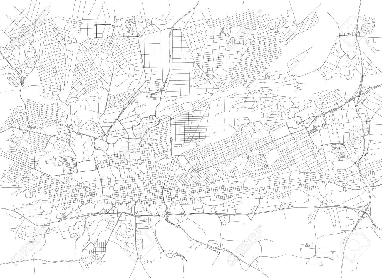 Cartina Muta Del Sudafrica.Vettoriale Strade Di Johannesburg Mappa Della Citta Sud Africa Cartina Stradale Image 90473645