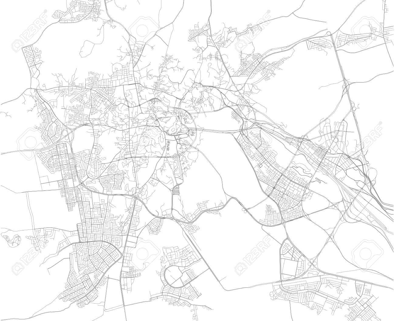 Mecca Map Makkah Is A City In The Hejazi Region Of The Arabian