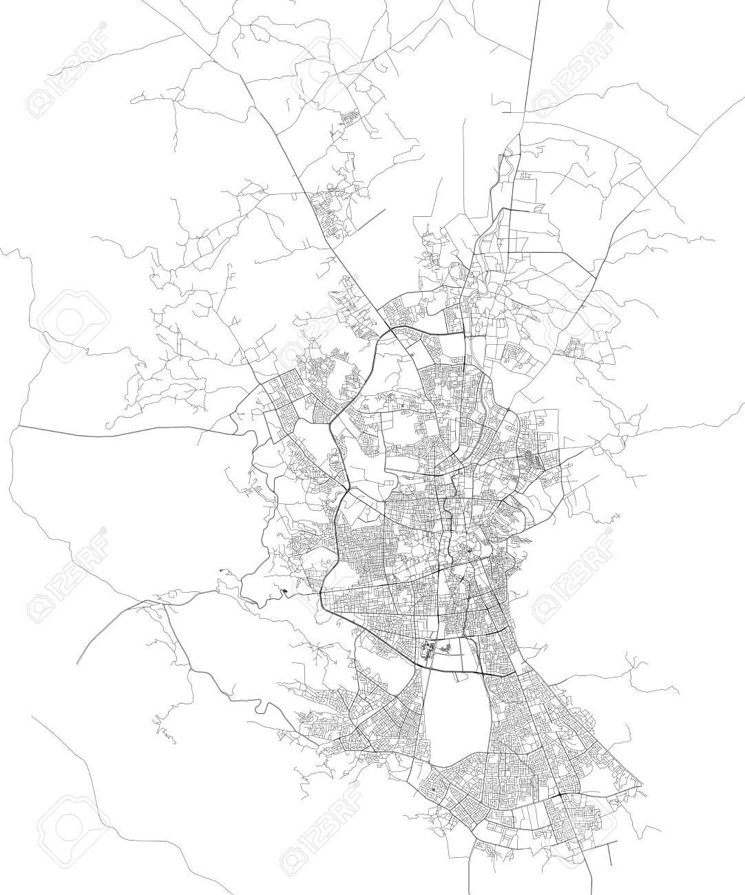 Satellite map of Sana? A, Yemen, city streets. Street map and.. on detailed map of yemen, road map of yemen, outline map of yemen, terrain map of yemen, political map of yemen, physical map of yemen, topographic map of yemen,