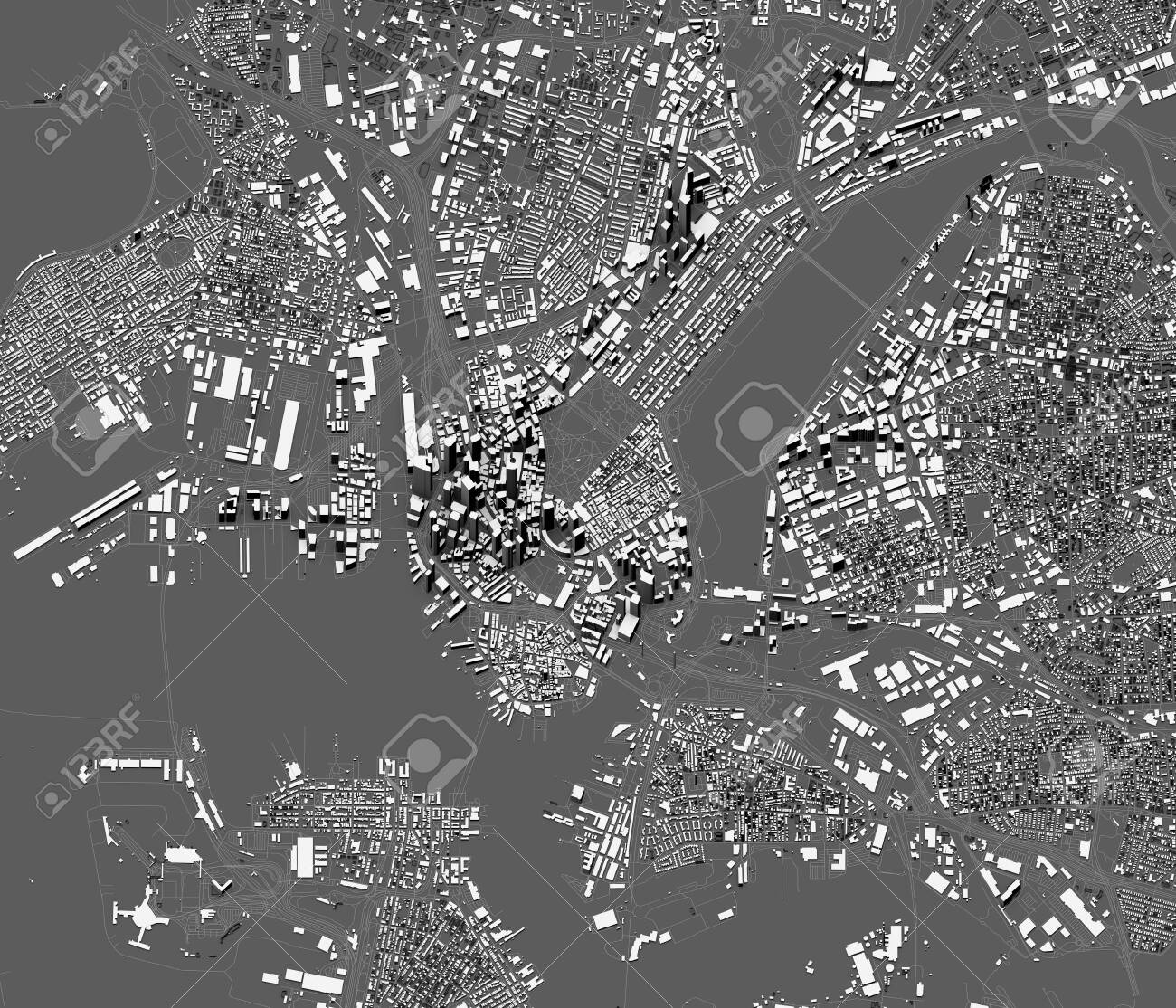 Satellite Map Of Boston Neighborhoods on satellite view of a vietnam, aerial view of neighborhoods, atlanta neighborhoods, map of seattle neighborhoods, satellite view of address zoom, satellite view of neighborhood,