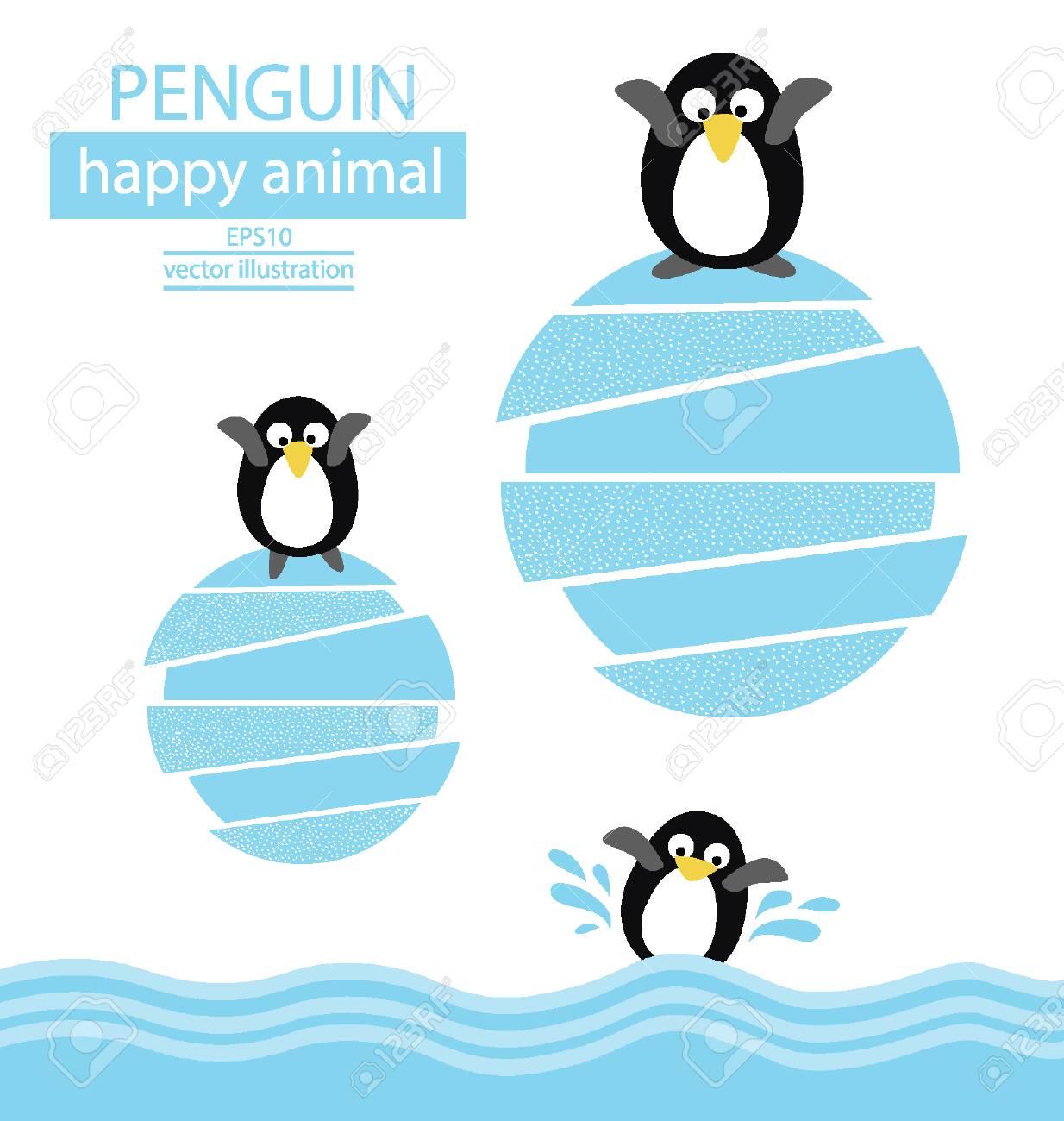 Penguin vector illustration Stock Vector - 25122764