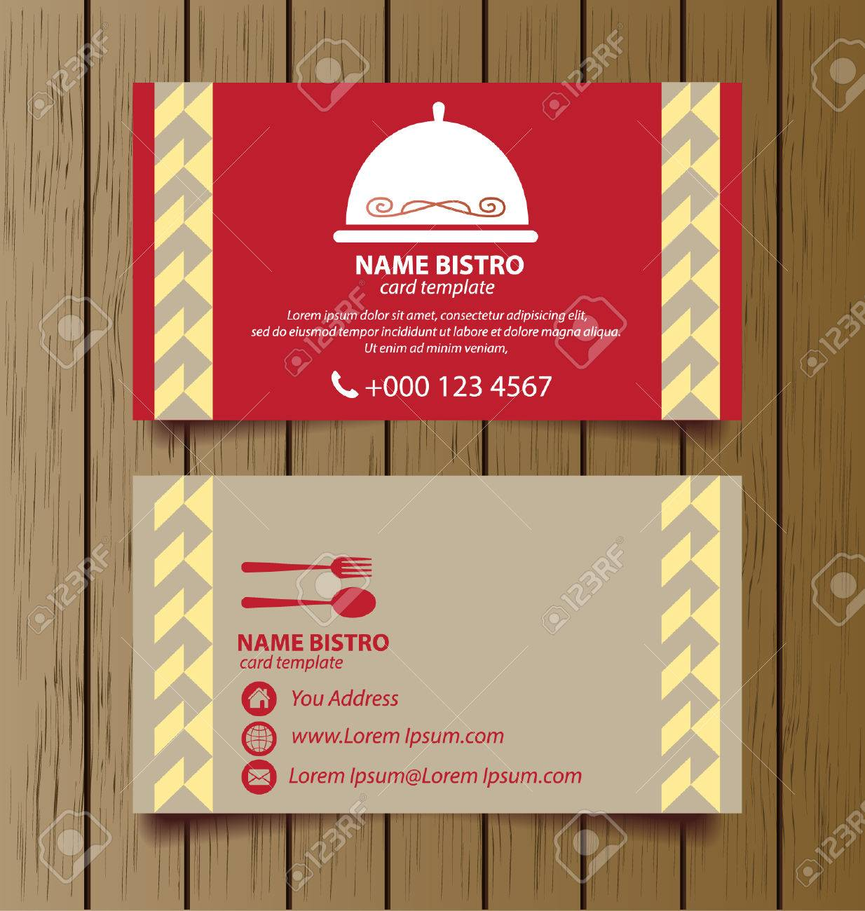 Business card template for restaurant business royalty free cliparts business card template for restaurant business stock vector 27785633 flashek Gallery