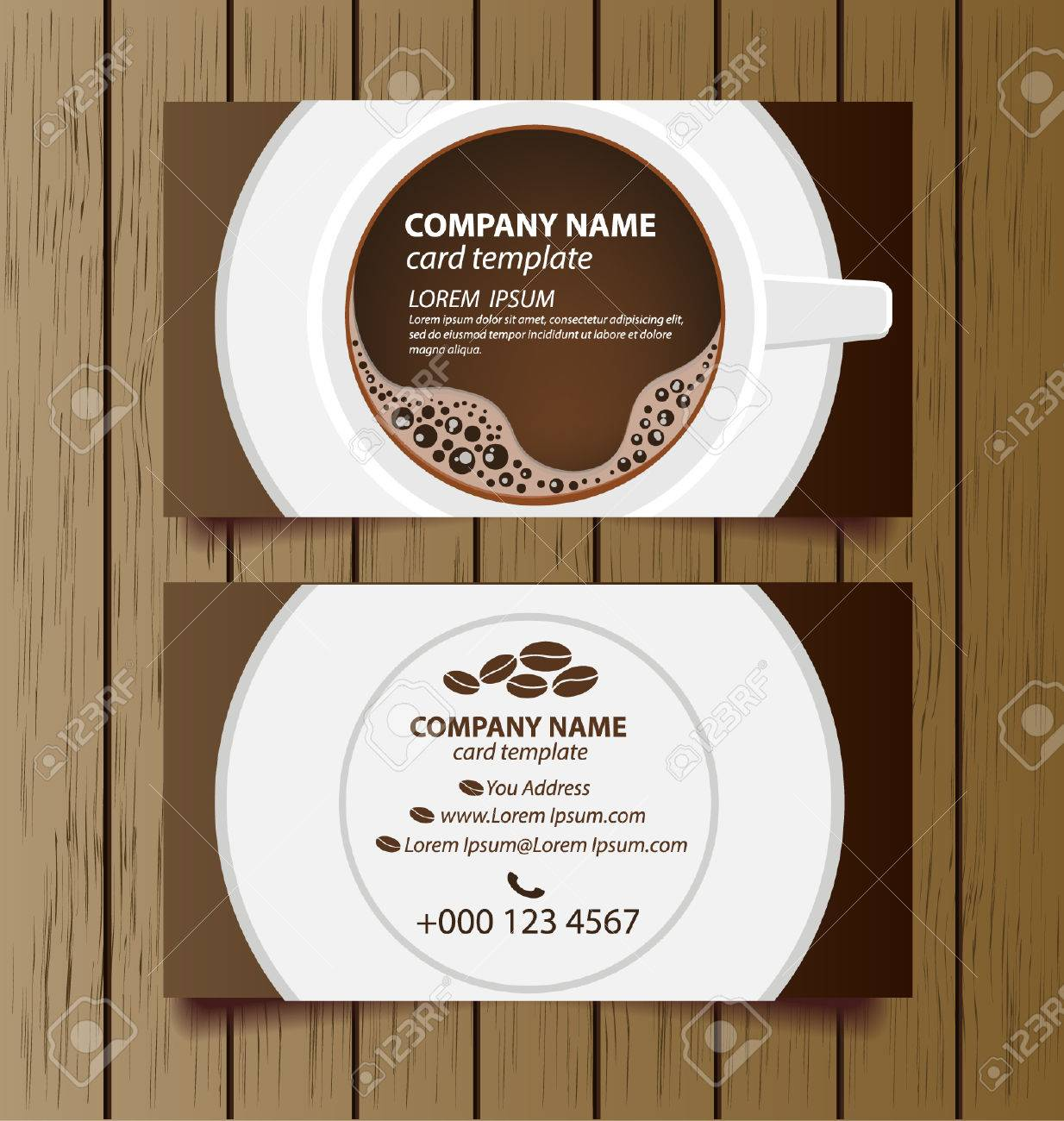 Business card coffee template vector illustration royalty free business card coffee template vector illustration stock vector 28388461 flashek Gallery