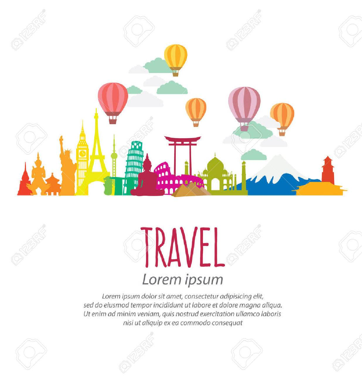 Travel and tourism concept - 42907313