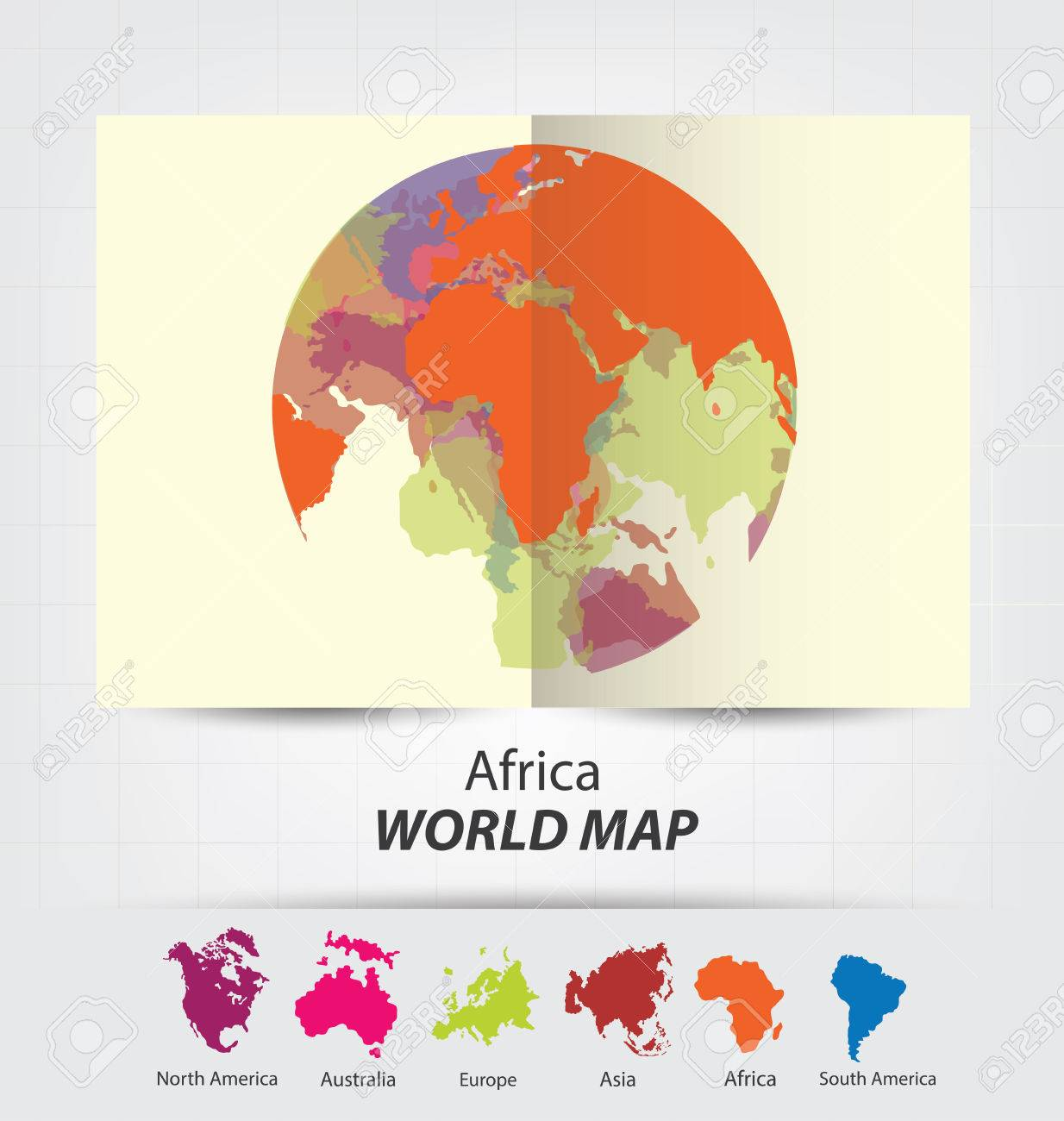 World map vector illustration royalty free cliparts vectors and world map vector illustration stock vector 44144446 sciox Images
