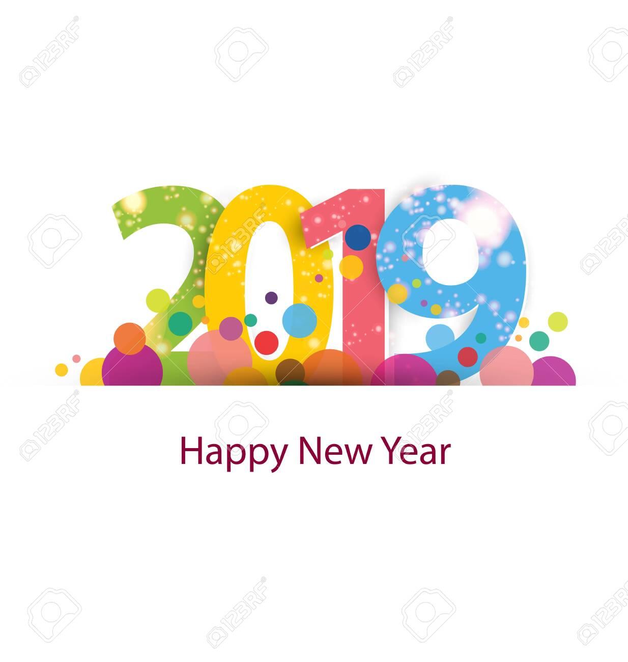 Happy new year 2019 - 130420964