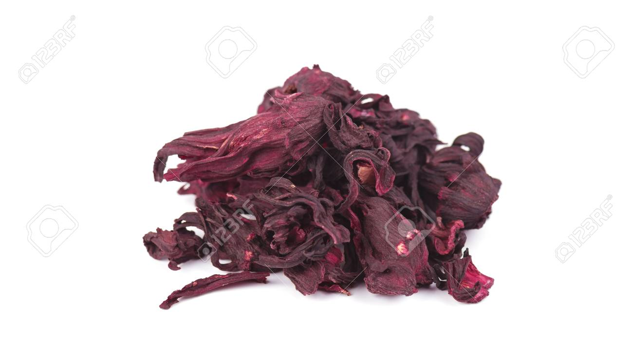 Dried hibiscus flowers hibiscus tea close up isolated on white dried hibiscus flowers hibiscus tea close up isolated on white background stock photo izmirmasajfo Images