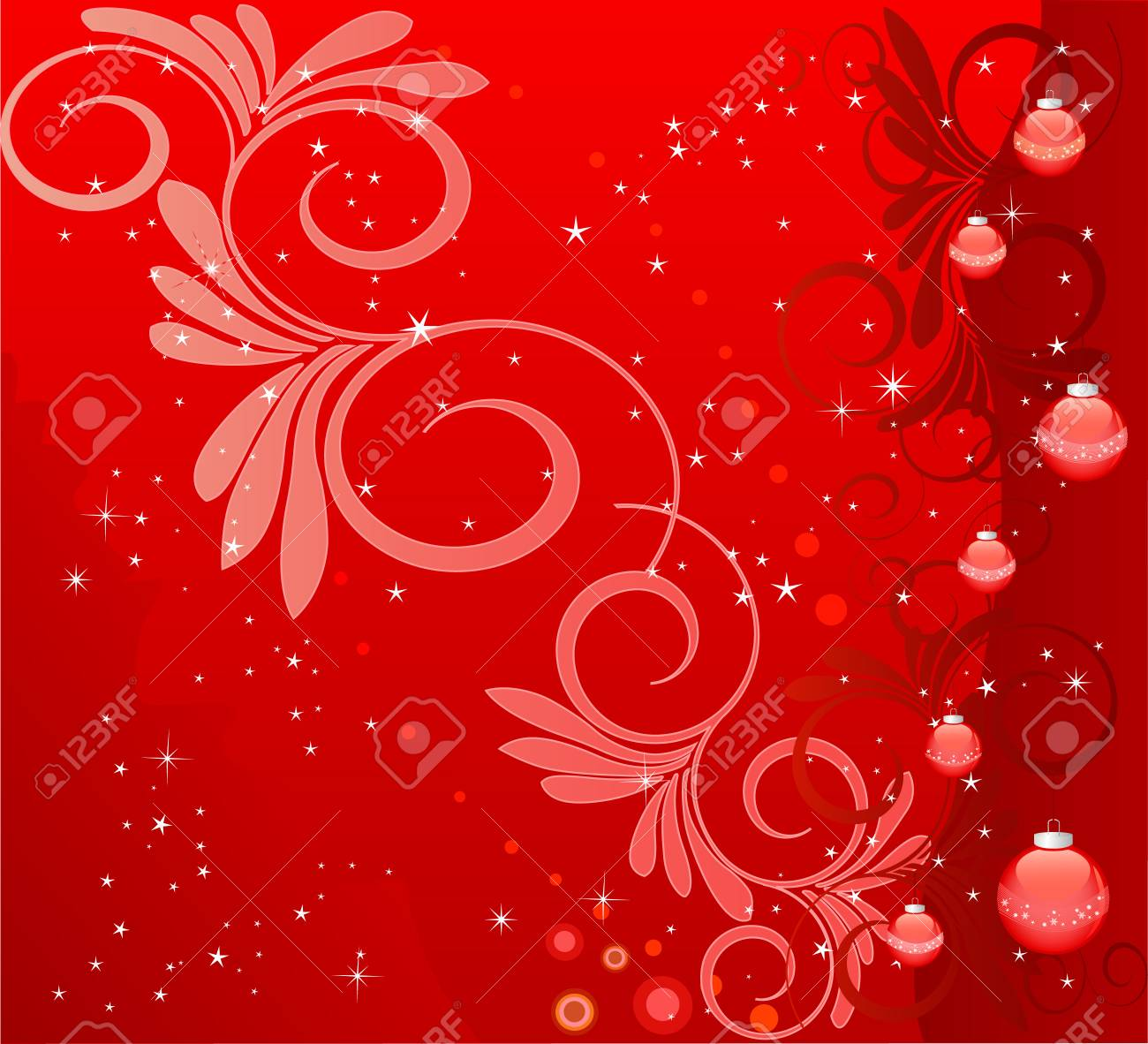 Abstract   Christmas background - vector Stock Vector - 1961203