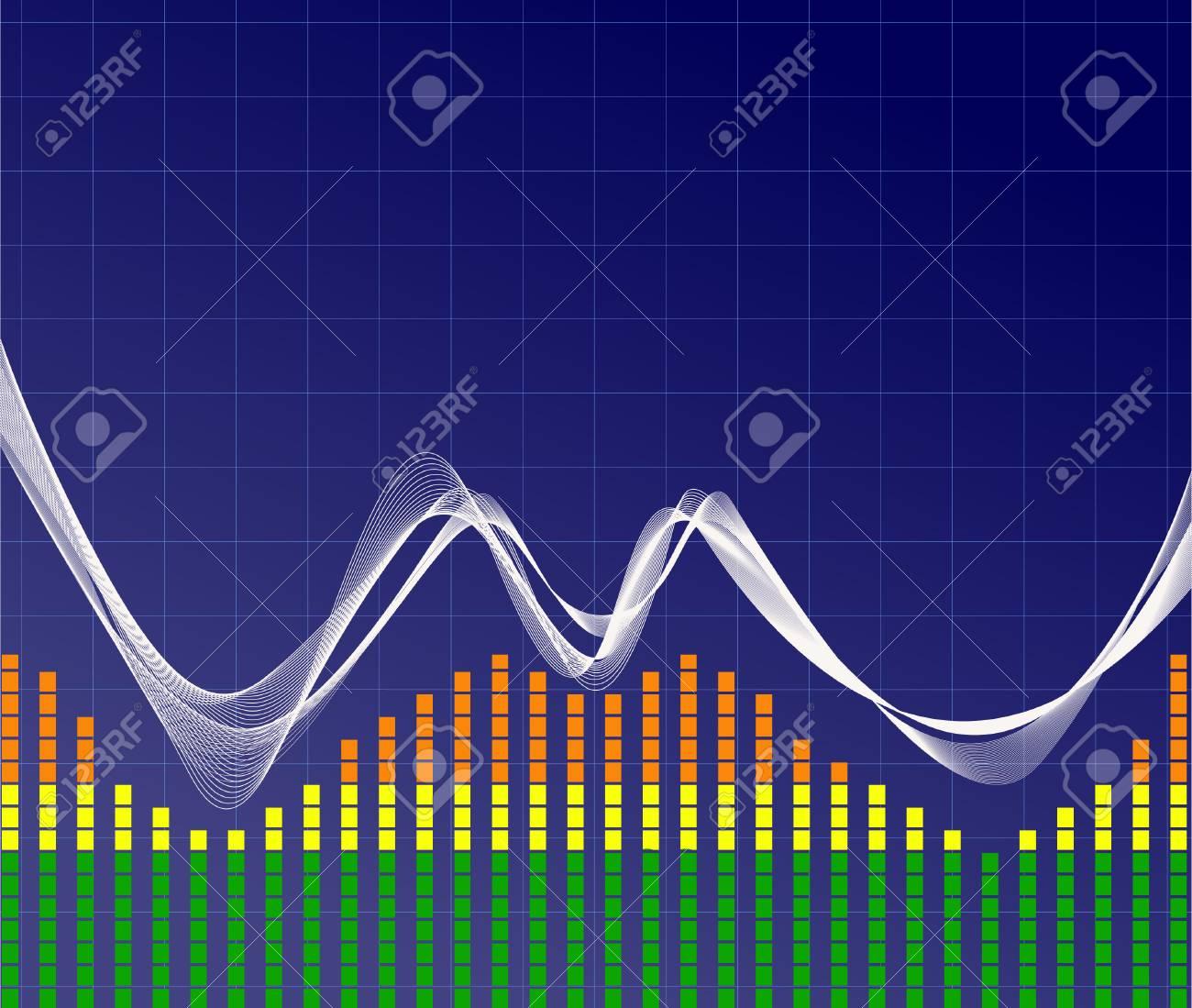 Music wave- vector Stock Vector - 2729930
