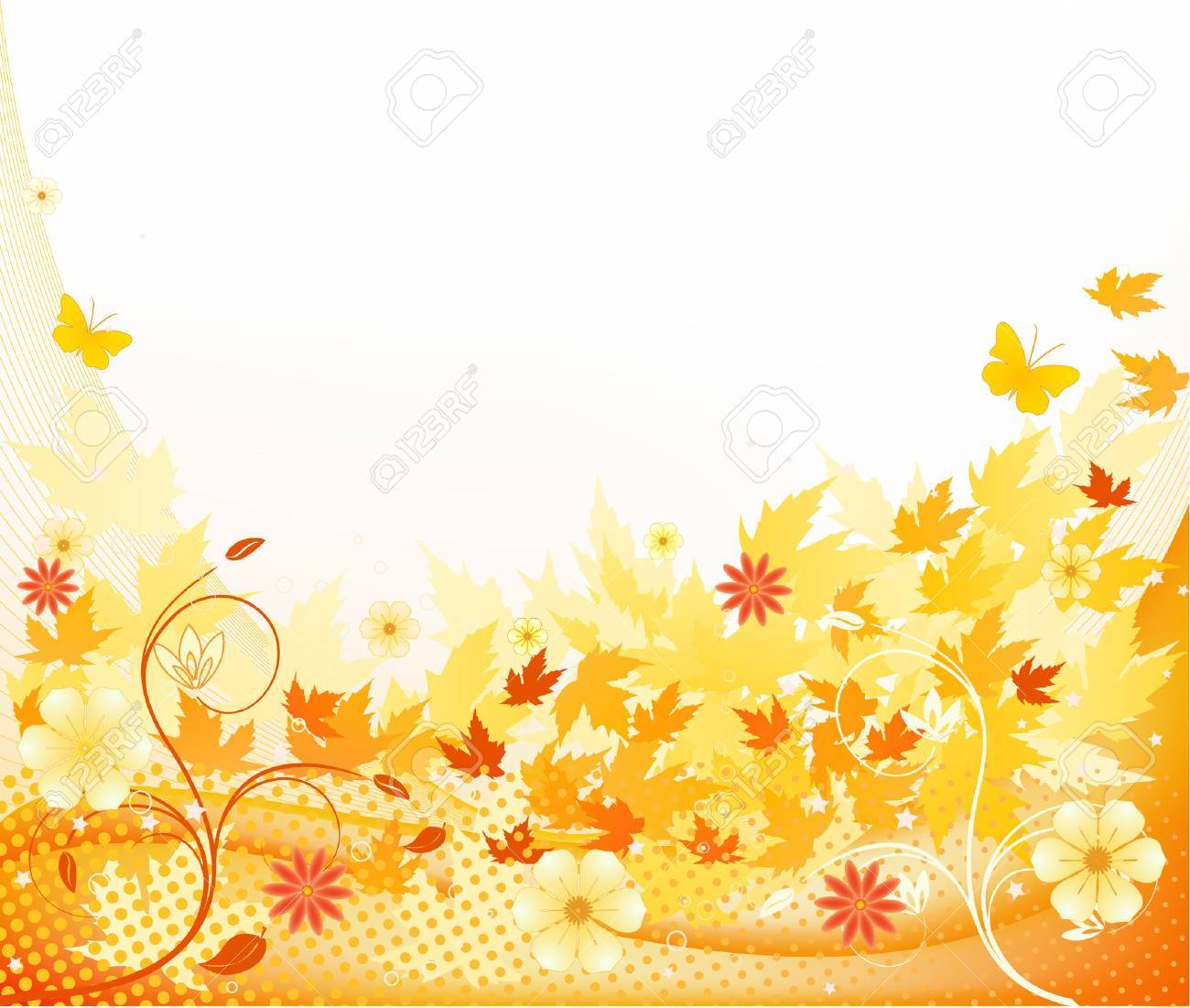 Floral   vector design Stock Vector - 3522696