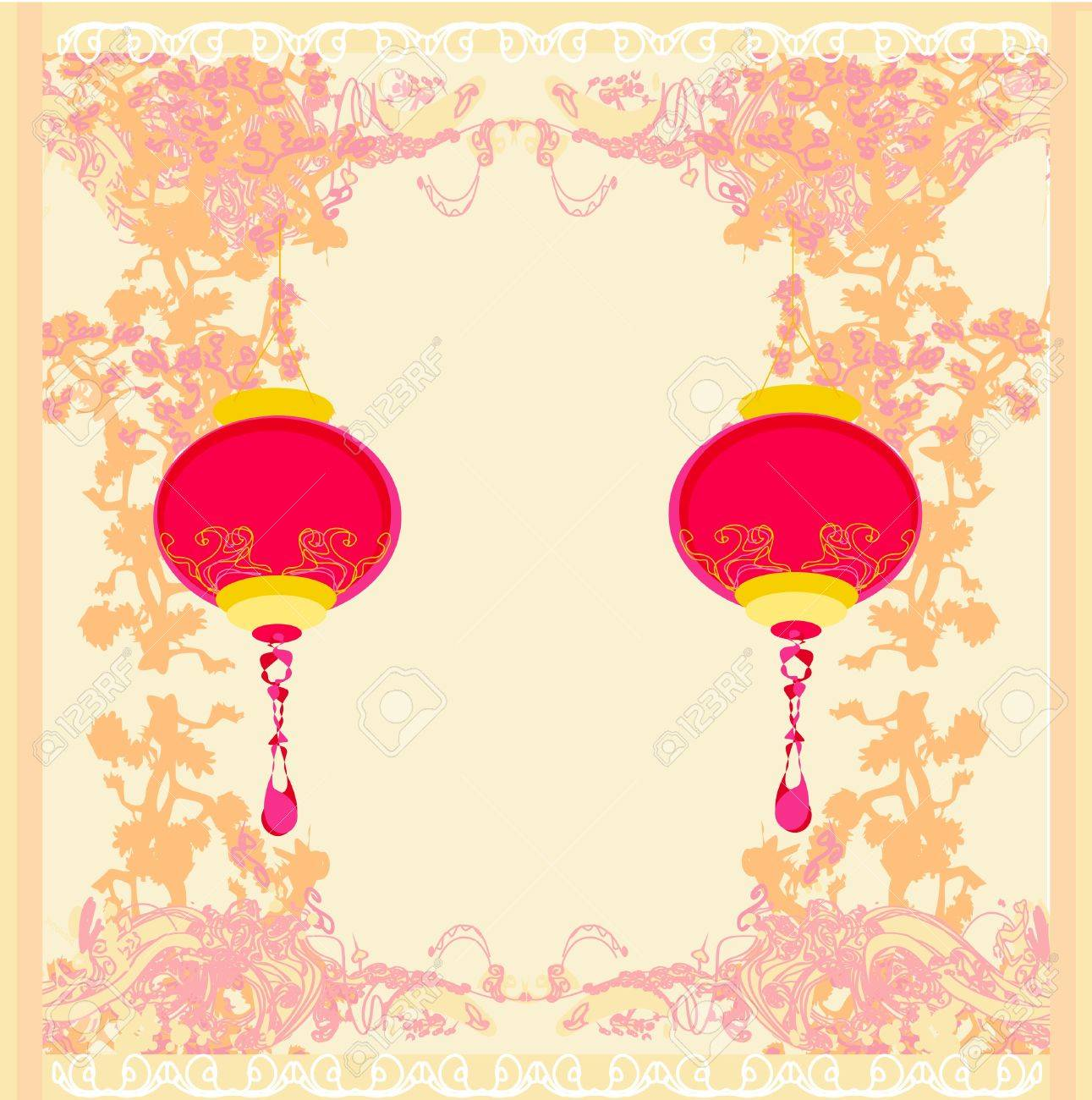 Chinese New Year Card Royalty Free Cliparts, Vectors, And Stock ...