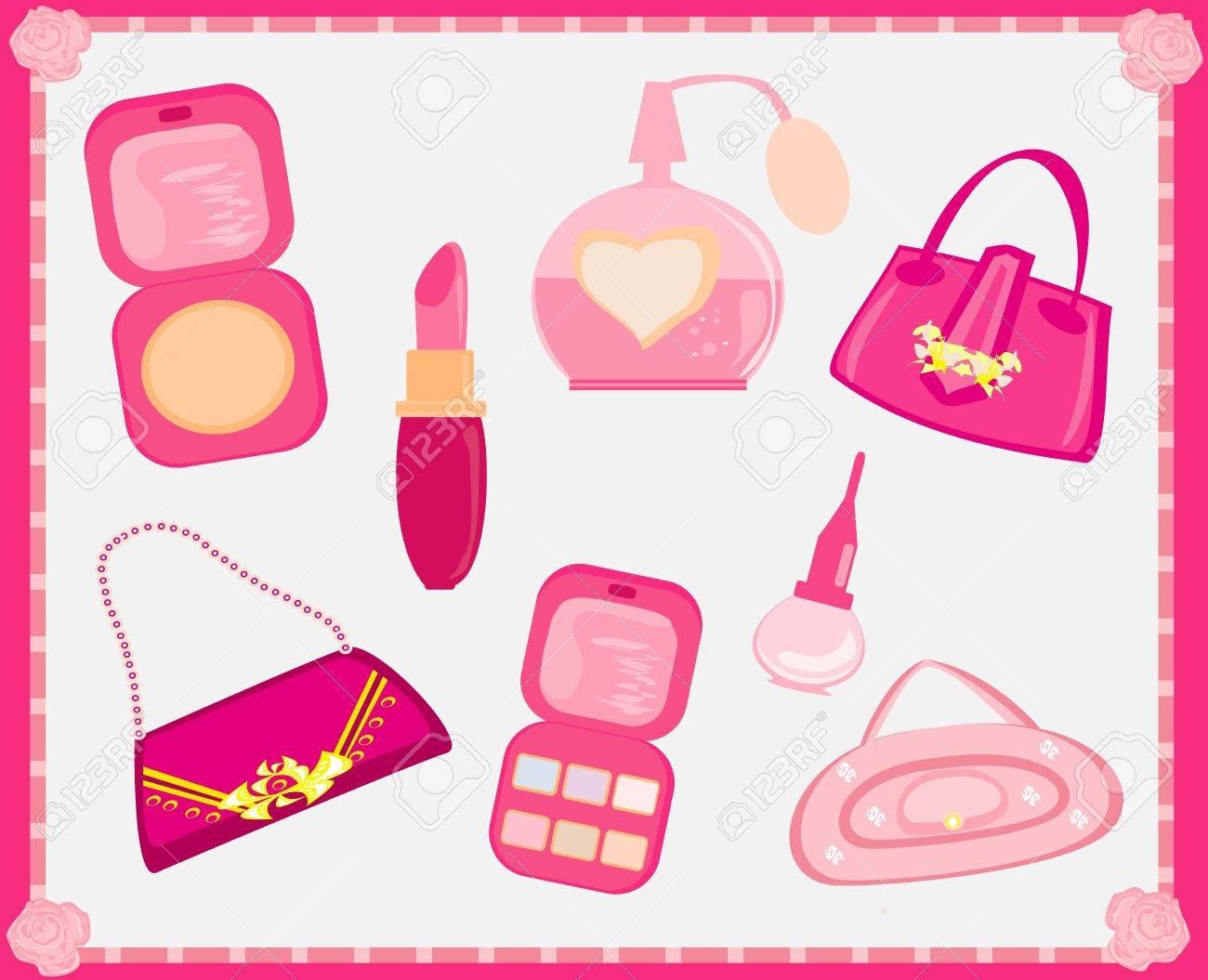 Accessories fashion Vector Set Stock Vector - 13121637