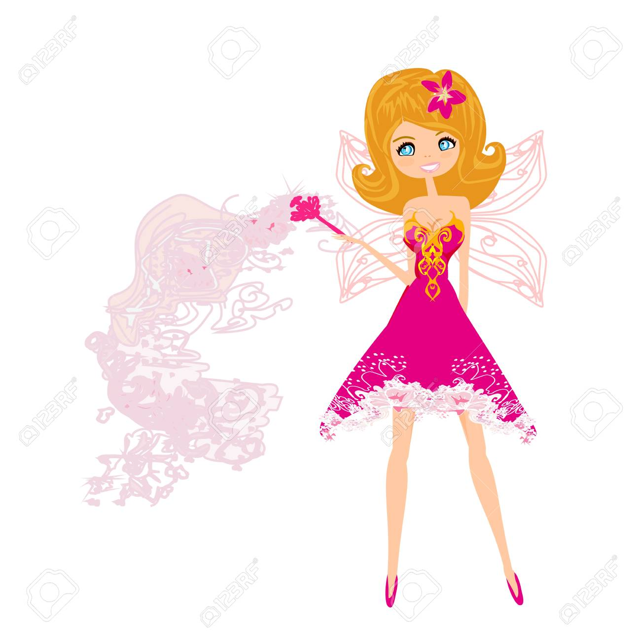 beautiful fairy graphic Stock Vector - 14046455