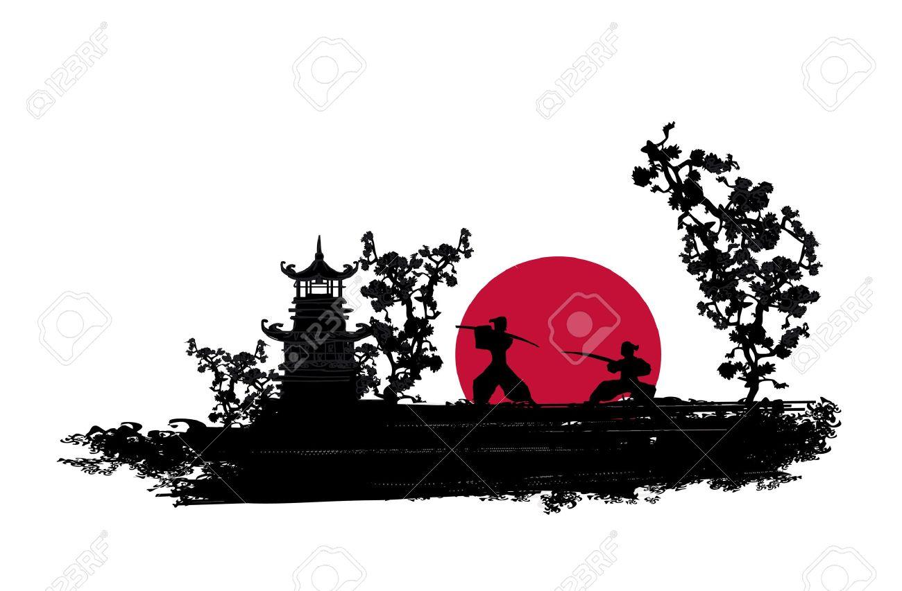 Japanese Samurai fight...