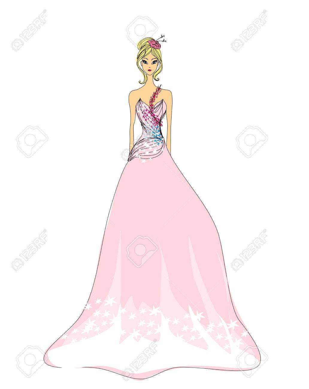 Beautiful princess - doodle Stock Vector - 14658583