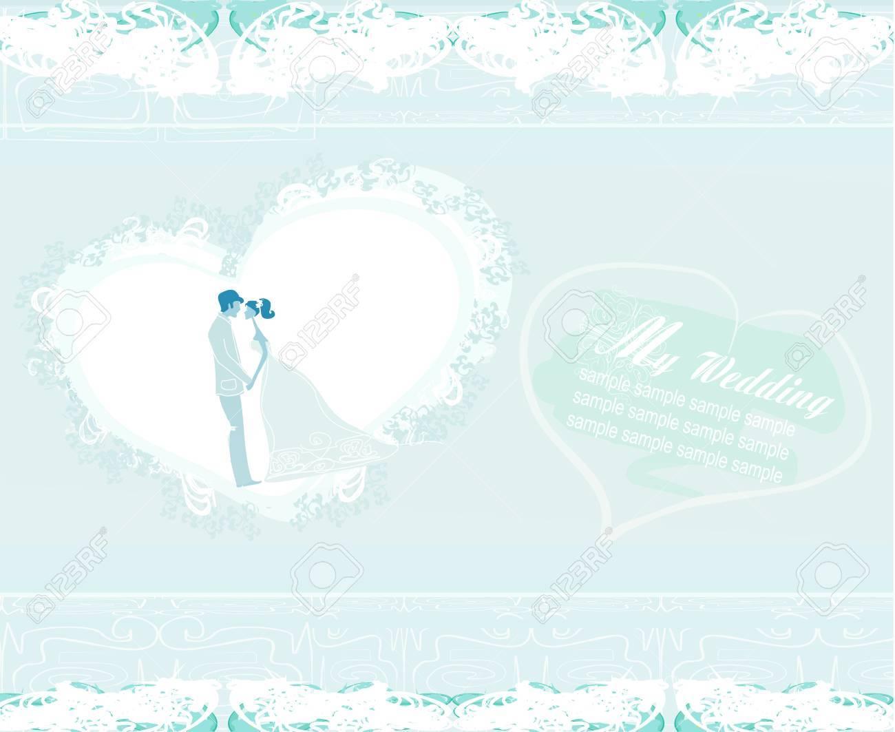 wedding invitation Stock Vector - 15712717