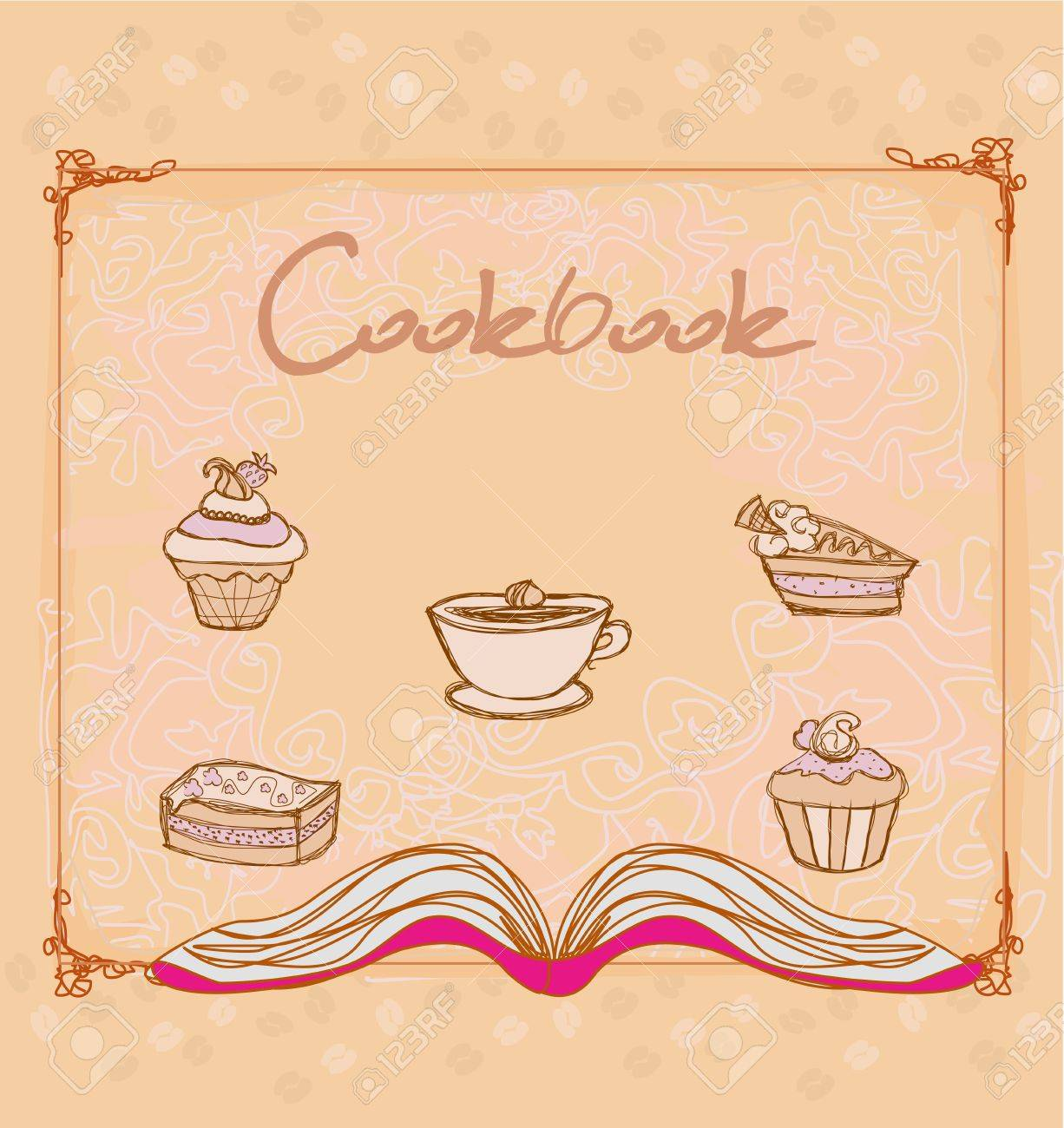 Cookbook Stock Vector - 17224858