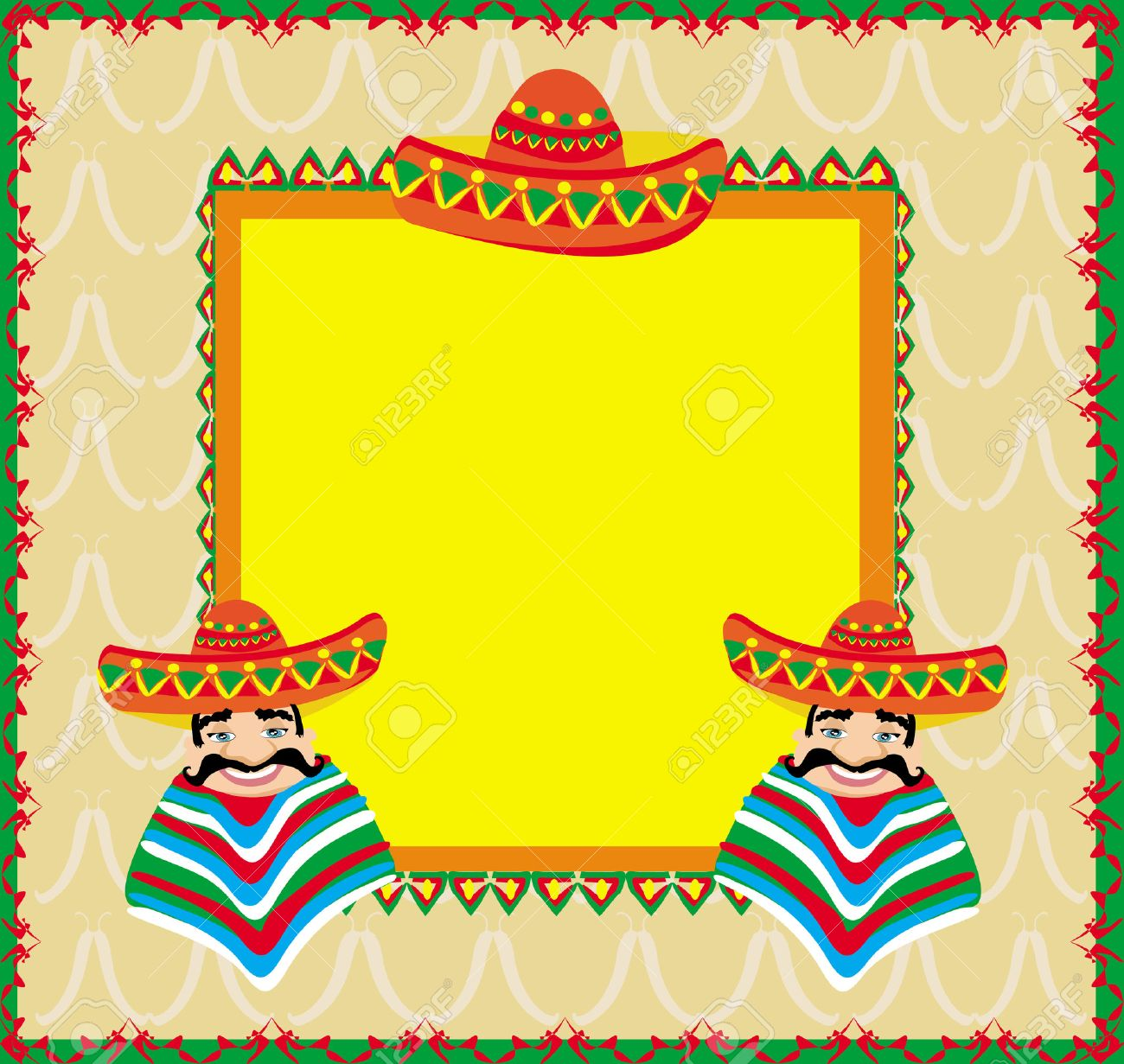 Resultado de imagen para Marcos para fotos-Fiesta mexicana