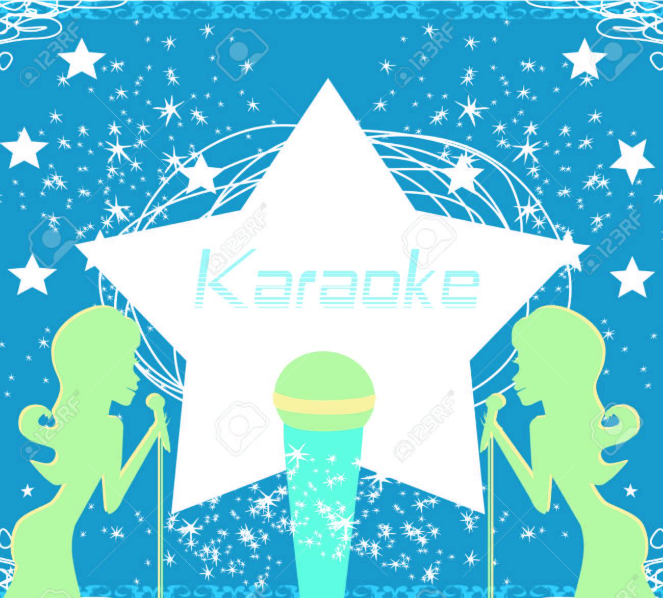 Invitación De La Fiesta Plantilla De Diseño Del Cartel De Karaoke