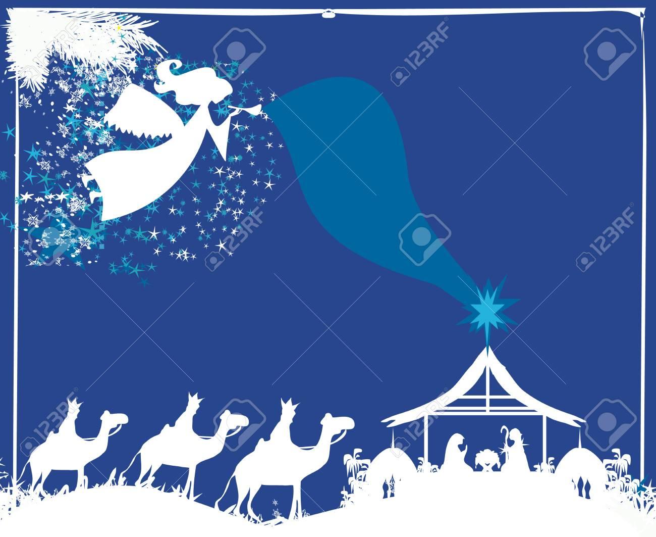 Christmas Religious.Christmas Religious Nativity Scene