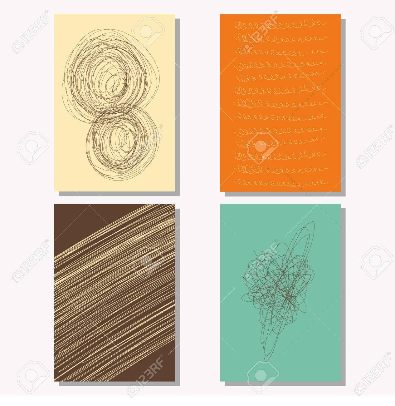 Exercise book design graphic