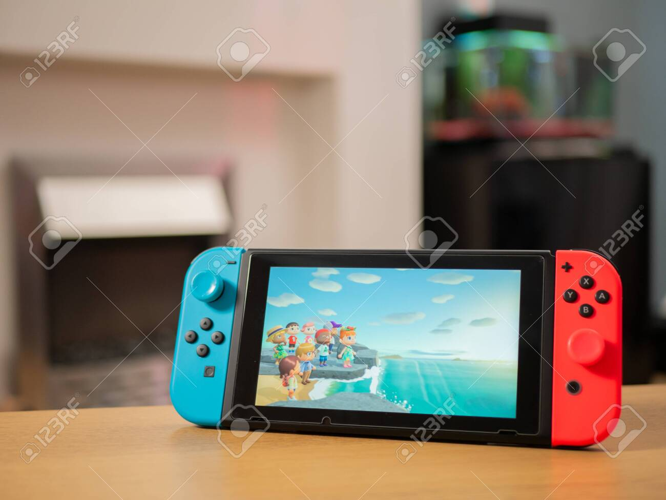 Uk March 2020 Nintendo Switch Games Console Animal Crossing
