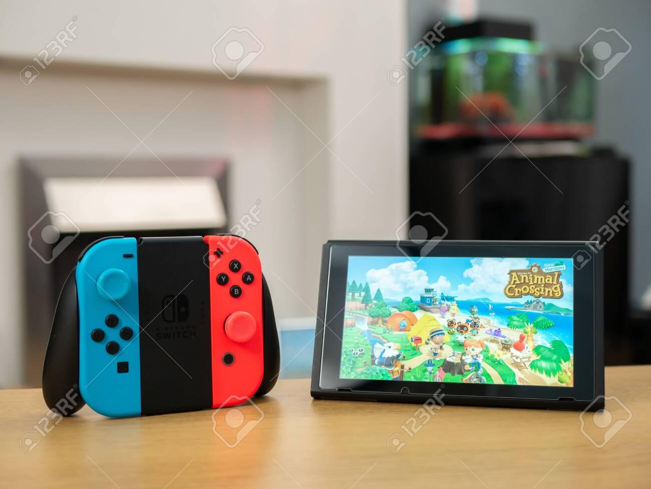 Uk March 2020 Nintendo Switch Animal Crossing New Horizons