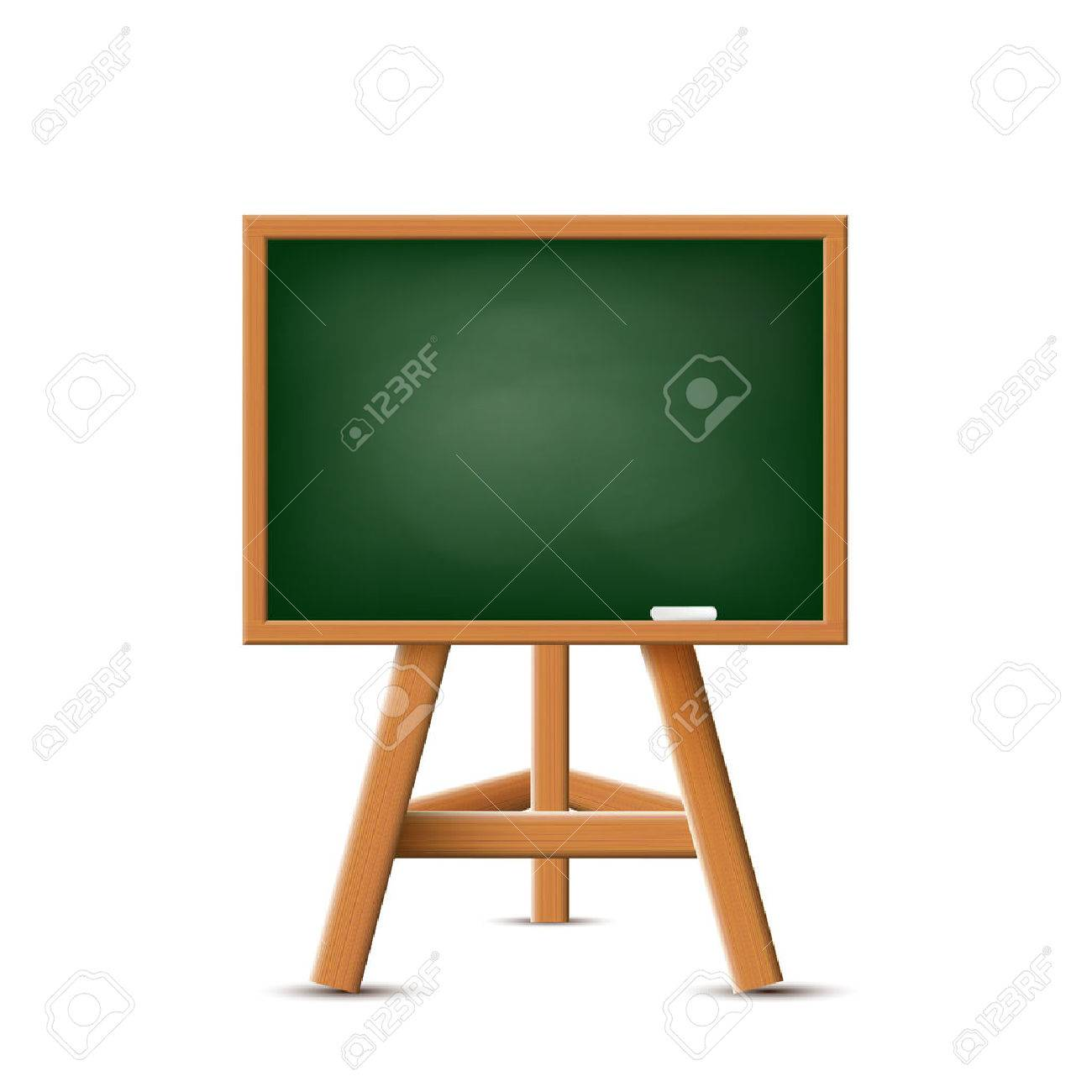 School board isolated on a white background. Stock Vector. - 40912868