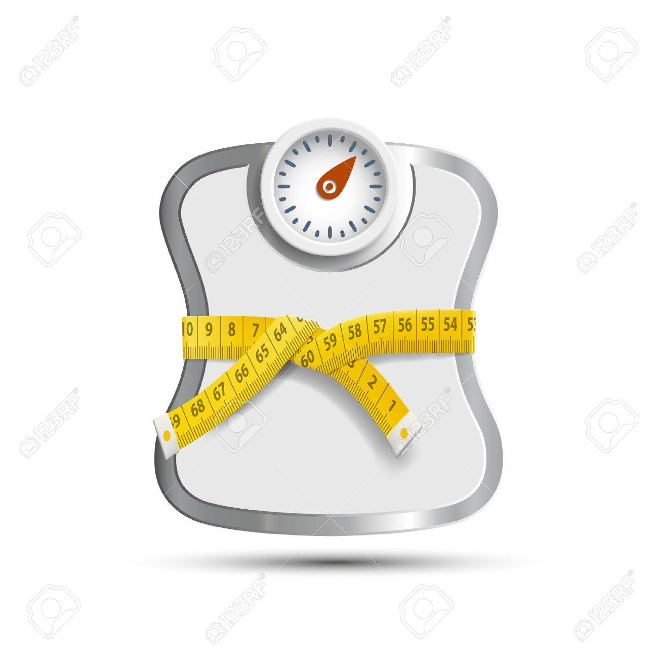 Scales for weighing with Measuring tape. - 50100142