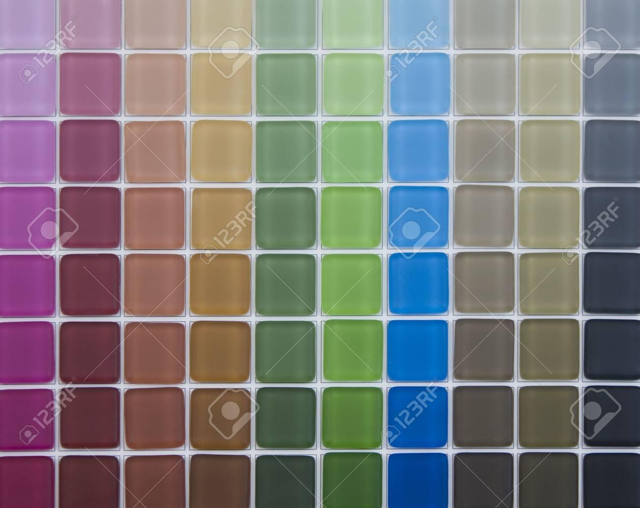 Colore mosaico per piscina cucina bagno foto royalty free immagini