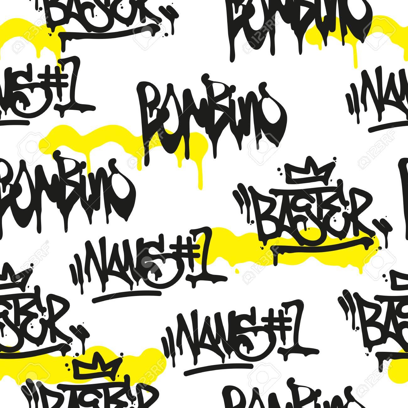 Graffiti Lettre H